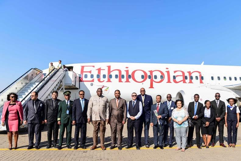 Namibia Airports Company - Ethiopian Airlines Launches